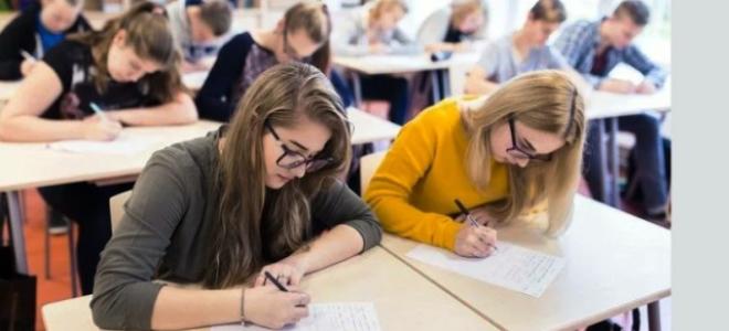 Как выглядит аттестат о среднем образовании?