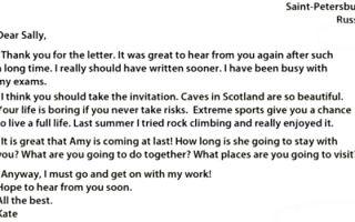 Советы о том, как написать письмо на английском