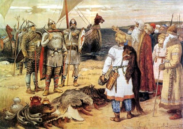 Образование Древнерусского государства кратко